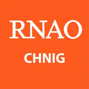 RNAO CHNIG logo