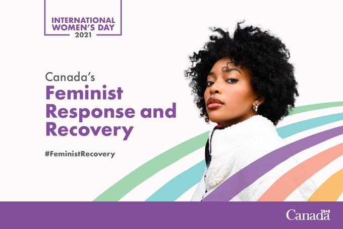Celebrate International Women's Day: #FeministRecovery