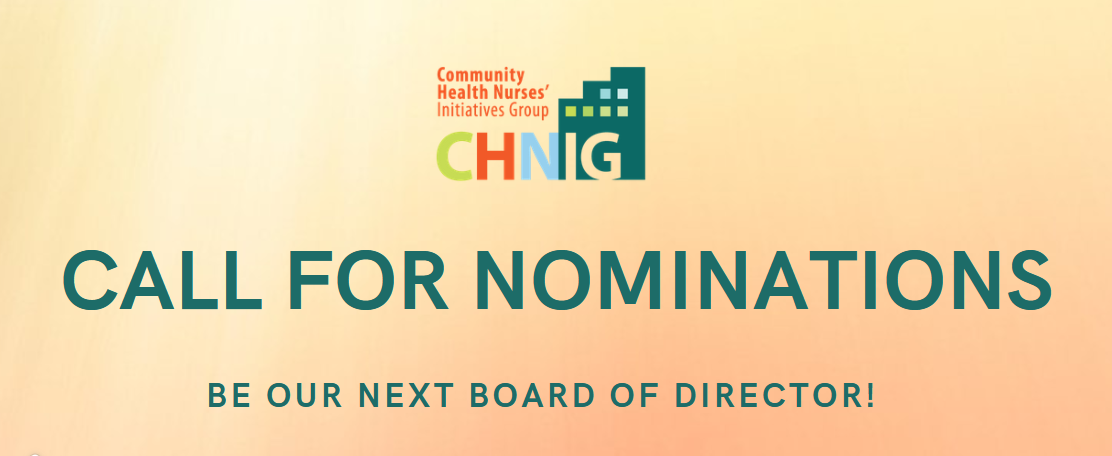 CHNIG Call for Nominations (2021-2023 Term)