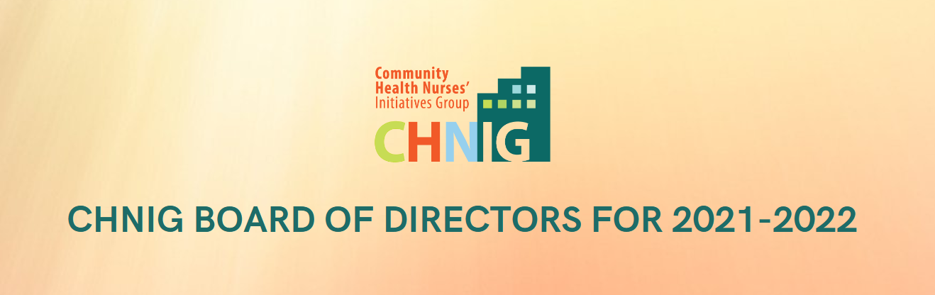 2021-2022 Board of Directors & How to Get Involved with CHNIG